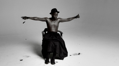 Stills from Mohau Modisakeng, ''Inzilo'' single-channel digital video, 2013 (4:57min)