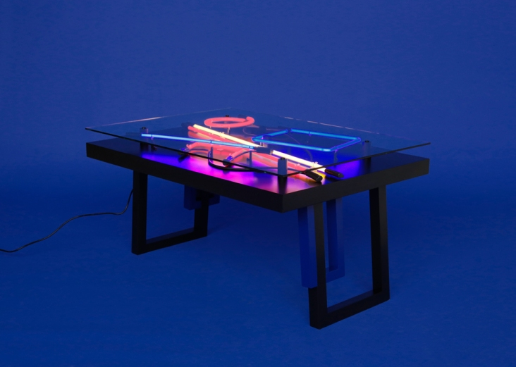 Aeon lines - table Exhibited in Milan Design Week, Photo: Anna Niskanen