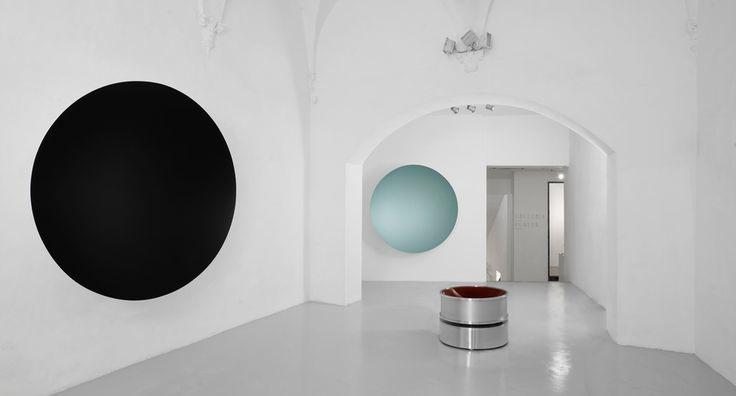 Anish Kapoor, exhibition view 'Descension', Galleria Continua, San Gimignano, 2015