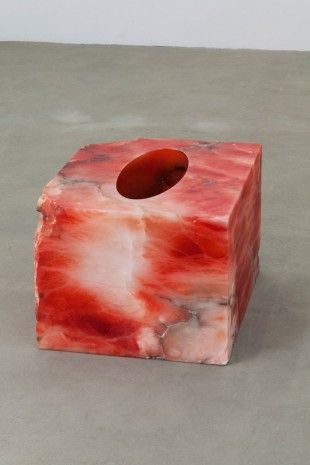 Anish Kapoor, Untitled, 2015, Alabaster, Courtesy of Galleria Continua