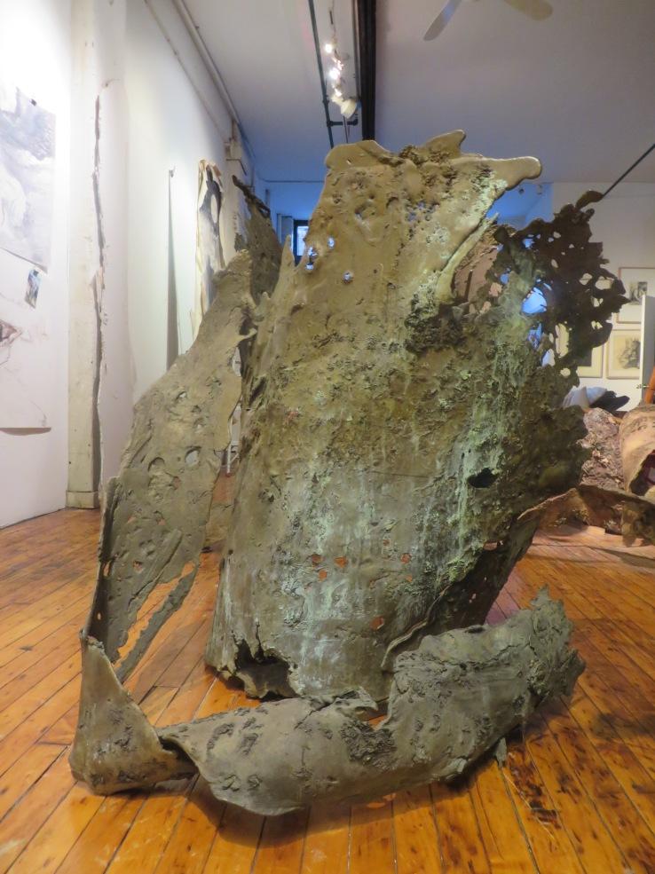 Linda Cunningham_bronzesculpture