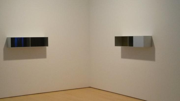 Sculptures by Donald Judd