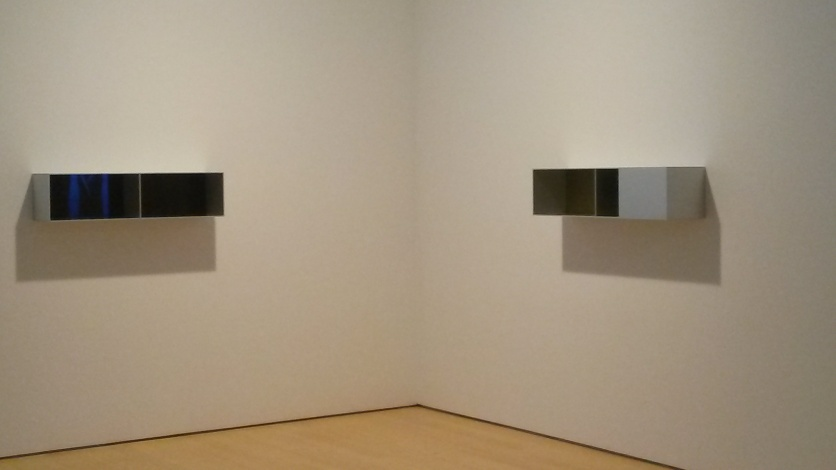 Sculptures by Donald Judd