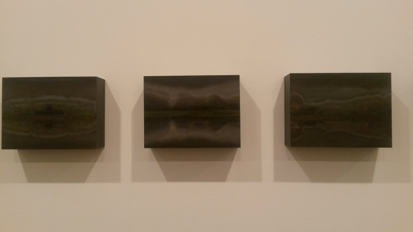 TERESITA FERNÁNDEZ Viñales (8 Nights), 2015 mixed media on wood panel