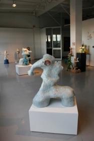 Jasmin Anoschkin, Huulipunankoemaistaja, 2010, ceramics.