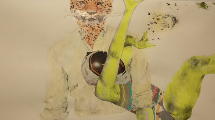 ruby onyinyechi amanze, works on paper, detail