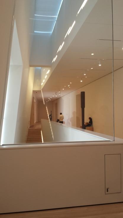 Staircases SFMOMA interior.