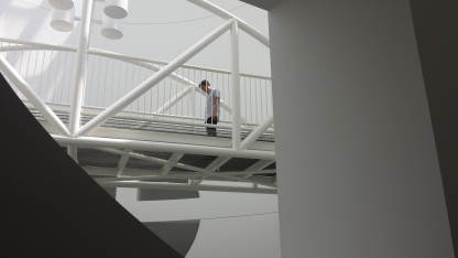 Oculus Bridge at SFMOMA.