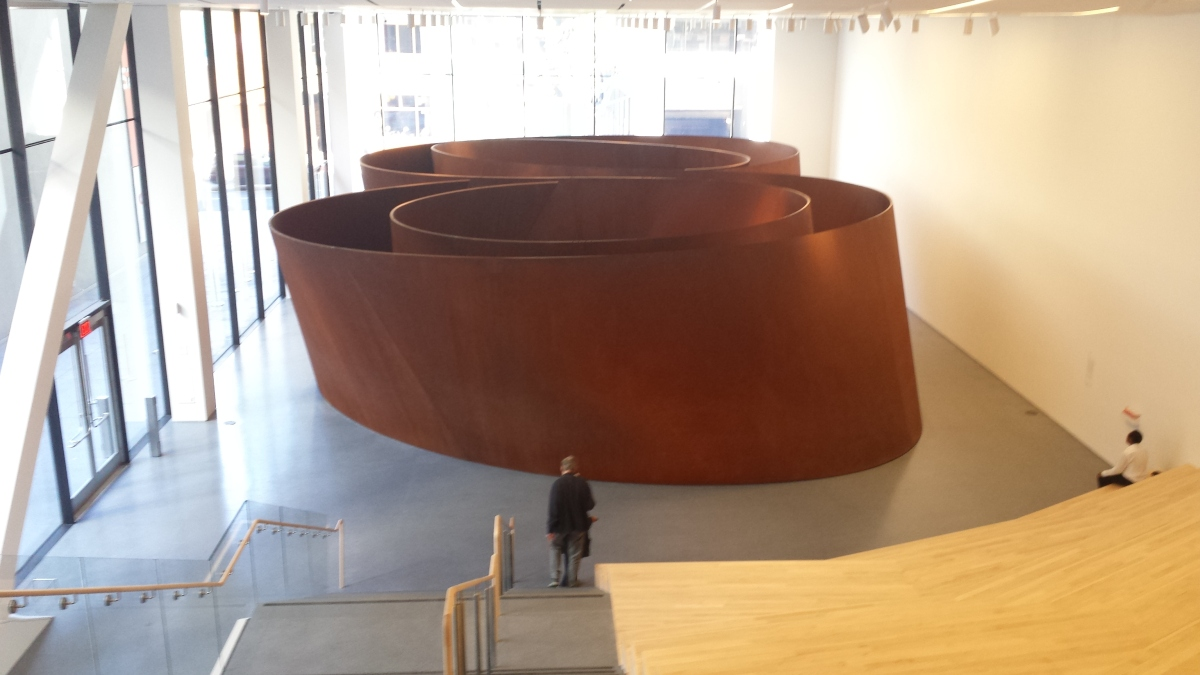 Richard Serra at SFMOMA.
