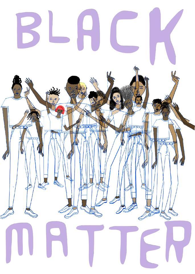 'Speak Out' -exhibition poster in Bronx Art Space #blacklivesmatter