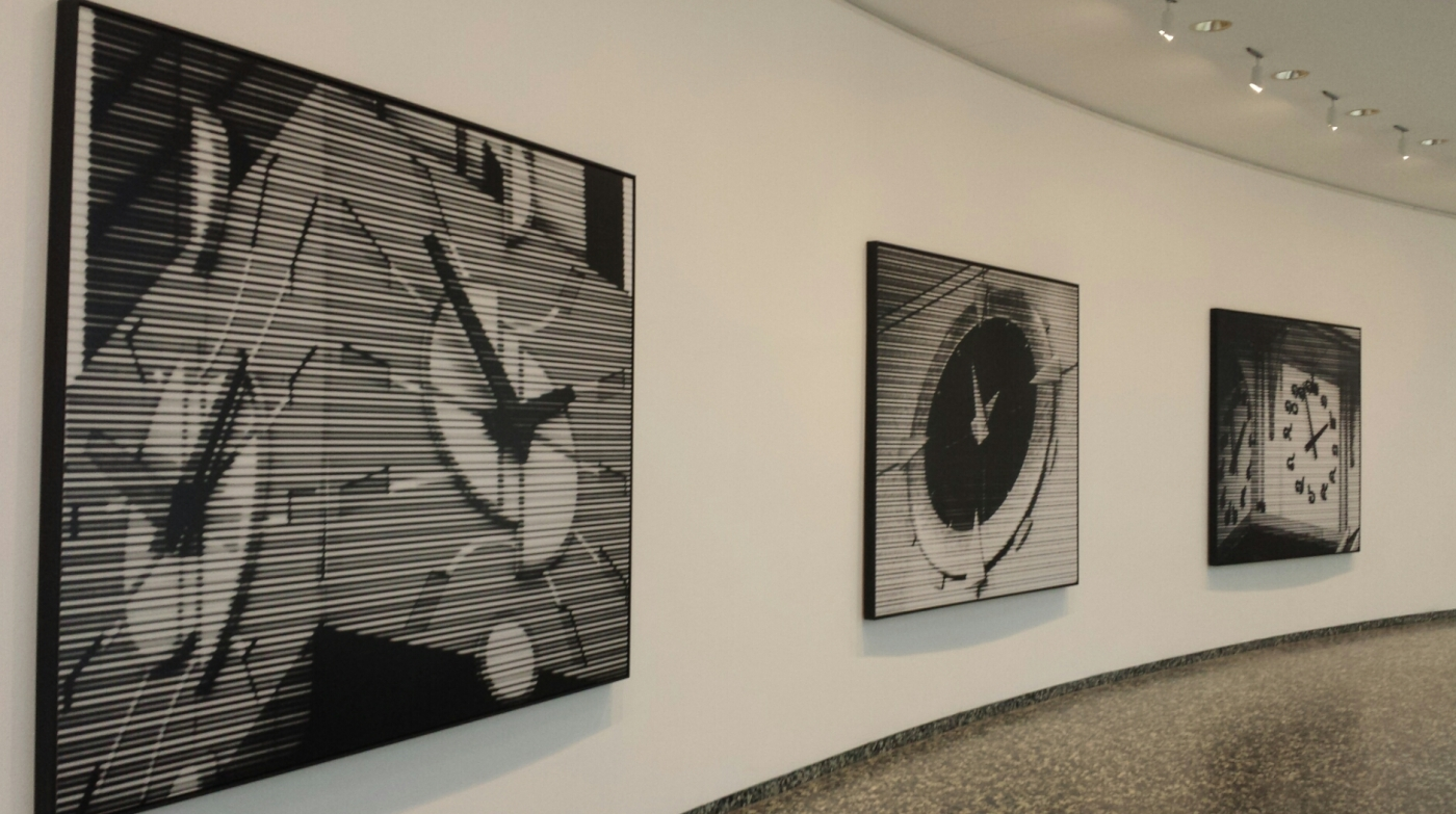 Bettina Pousttchi: World Time Clock at the Smithsonian's Hirshhorn Museum and Sculpture Garden.
