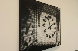 Bettina Pousttchi's World Time Clock.