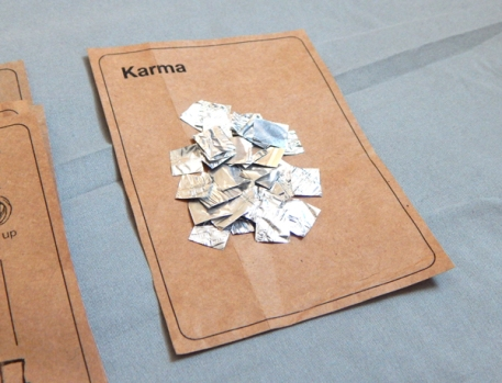 Amelia Marzec, karma, from New American Sweatshop, 2015