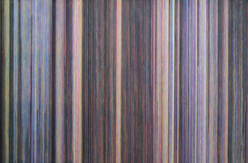 Katsutoshi Yuasa, 2015, The colours of the Innocents #4  60cm x 90.5cm  Water-based woodcut on paper