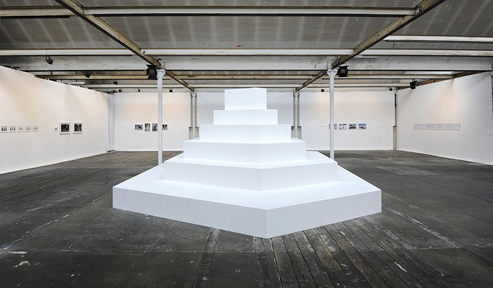 Sasha Huber in collaboration with Petri Saarikko, The Prototype, 2013, installation view.