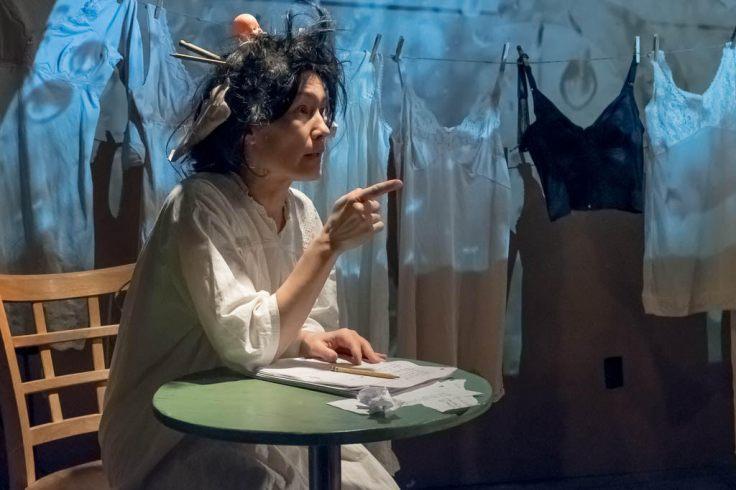 MARINA CELANDER, SHAKESPEARE'S SISTERS, DIXON PLACE, NYC 2017 - PHOTO SALLY MINKER