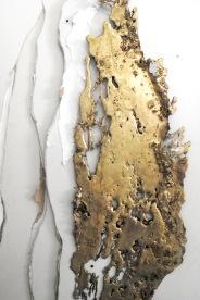 Bronze features movement in Linda Cunningham's work.