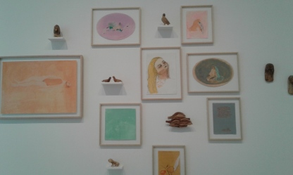 Jumana Emil Abboud installation view., Bildmuseet, 2017.