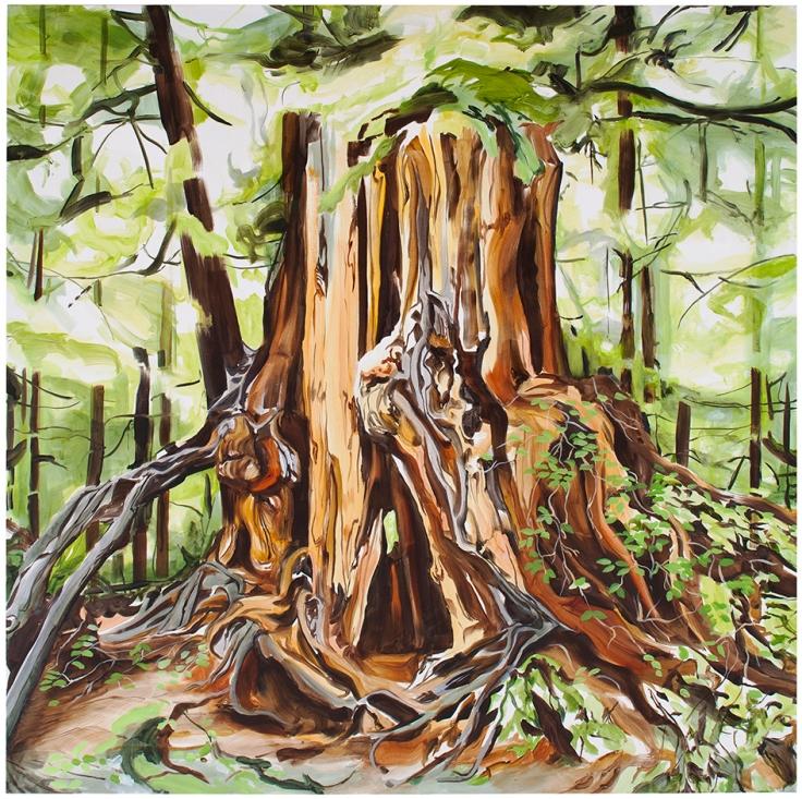 Tamara Piilola, Kruunu, oil on canvas.