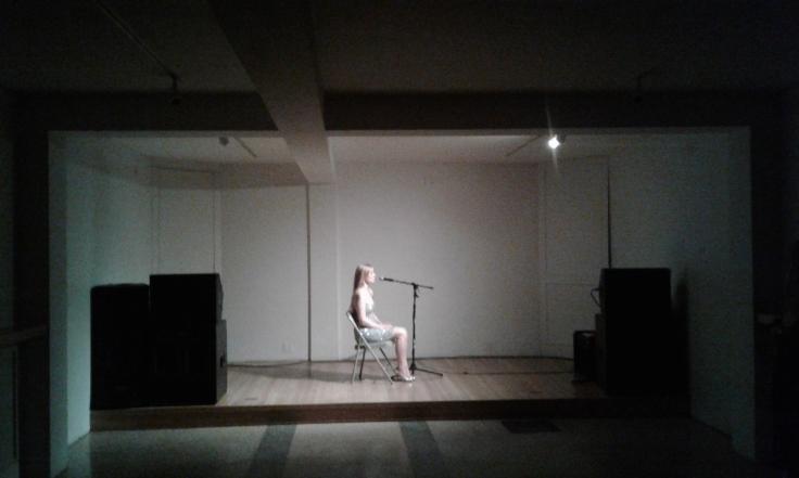 Flo Kasearu Performa-project at Estonian House.