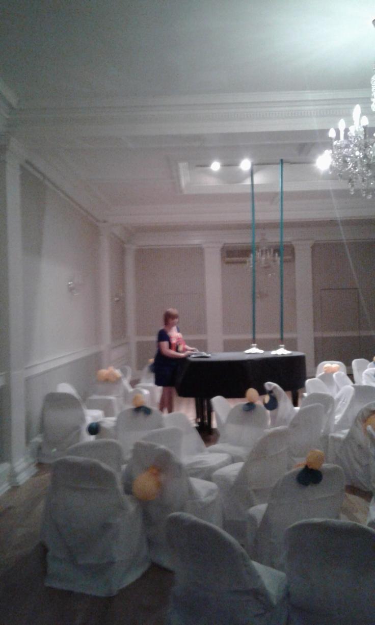 Flo Kasearu_the music room at the Estonian House.