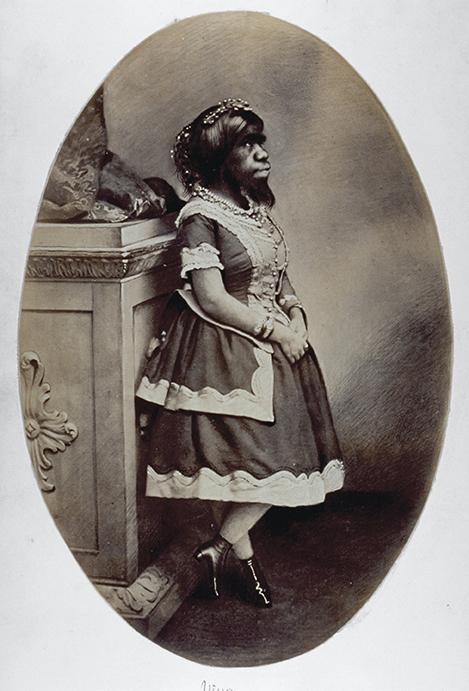 Julia Pastrana, book cover.