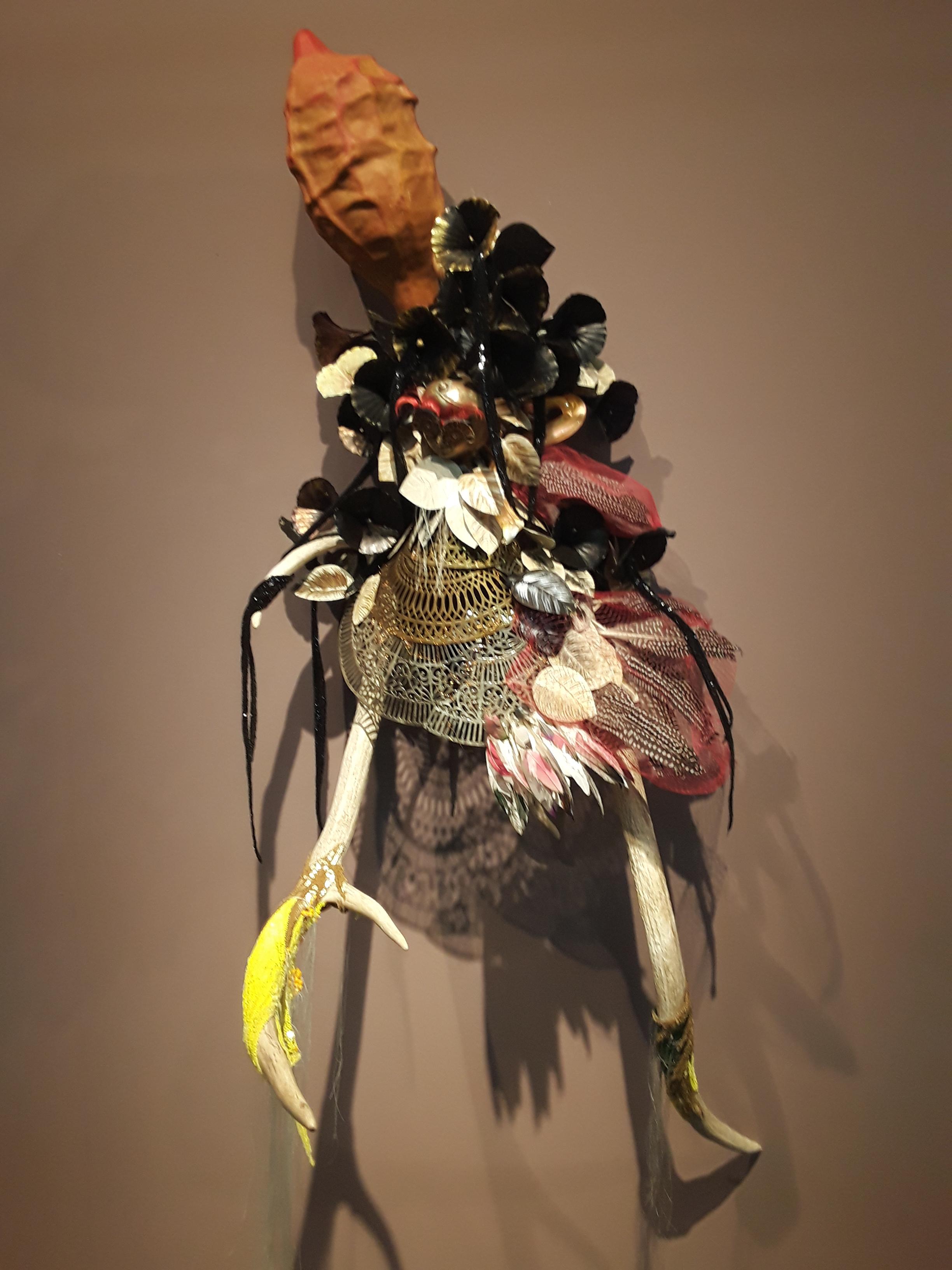 Rina Banerjee, 2020, installation view. Galerie Nathalie Obadia.